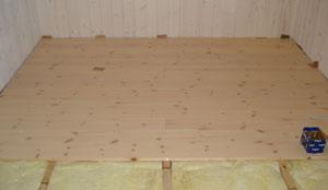 Lægning af laminatgulv på trægulv