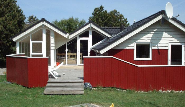 FS Byg - Terrasse Esbjerg og omegn - Flot anlagt terrasse i træ, til konkurrencedygtige priser